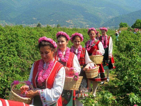 Valea Trandafirilor, Bulgaria