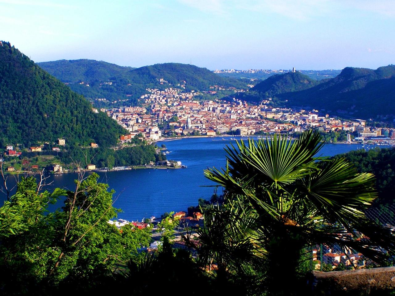 Como, orașul principal de pe Lacul Como