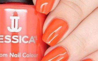 Orange Nails – unul dintre cele mai cool trenduri de manichiura pentru sezonul de primavara – vară 2018