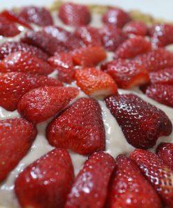 Tartă cu căpșuni. O alegere inspirată.
