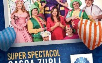 Personajele celebre din Gașca Zurli la Plaza România
