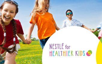 Nestlé lansează o inițiativă globală prin care ajută copiii să ducă o viață mai sănătoasă