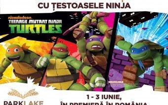 Țestoasele Ninja vin pentru prima dată în România, la ParkLake Shopping Center
