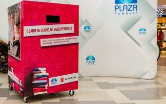 Plaza România și Salvați Copiii colectează cărți pentru copiii din medii defavorizate