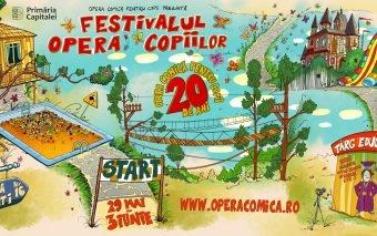 Șase zile de distracții unice pentru întreaga familie la Festivalul Opera Copiilor 2018
