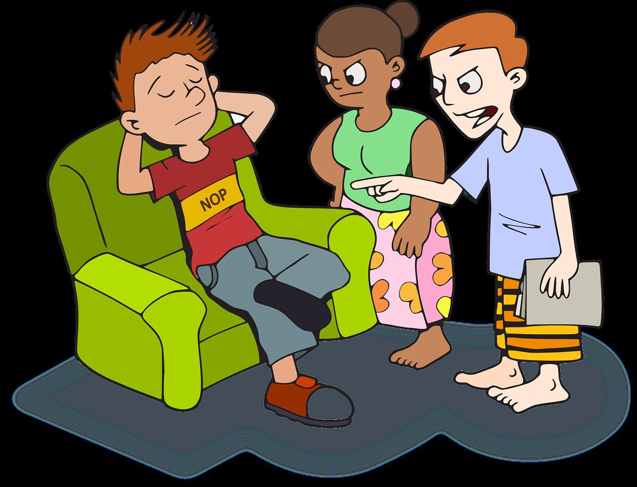 Certurile între copii și părinți