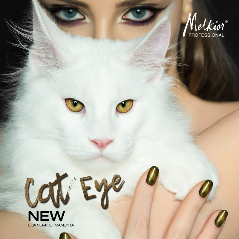 Nou! Melkior a creat Oja Semipermanenta Cat Eye!