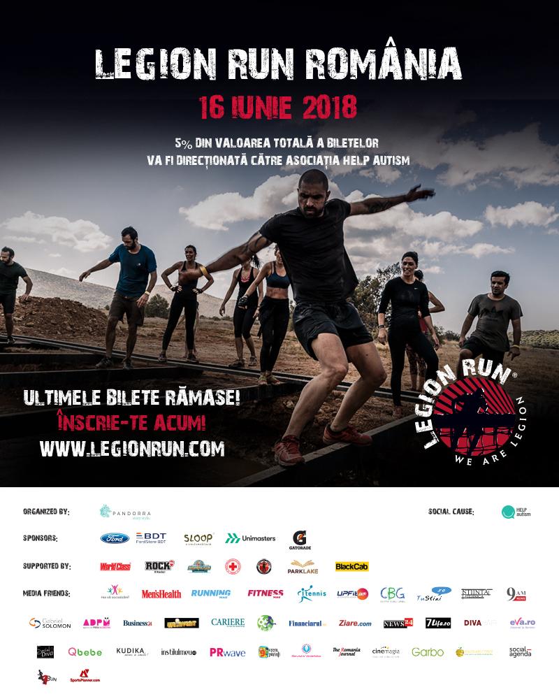 Legion Run România - distracția, energia și susținerea au venit în valuri!