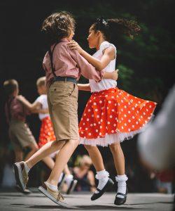 Beneficiile dansului la copii