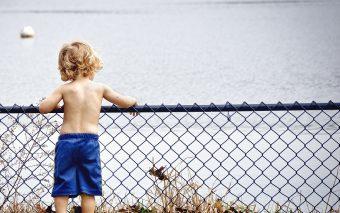 Frica de apă la copii