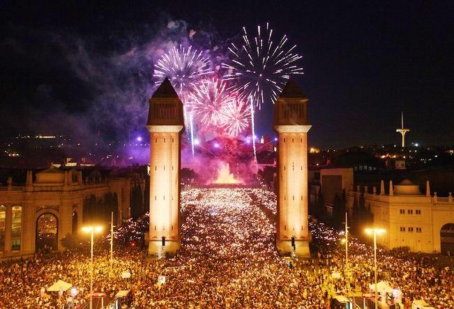 """Festivalurile verii în Spania. Fiesta de la Merce – petrecerea de """"foc"""""""