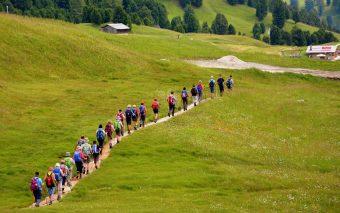 drumeții pe munte cu copii