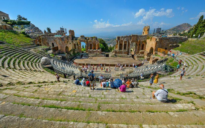 Taormina, pe urmele grecilor antici