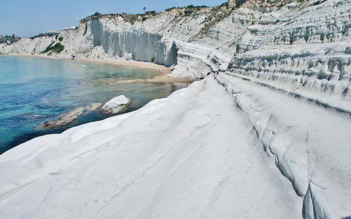 Plaja Scala dei Turchi Beach