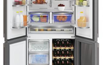 Combina frigorifică Grundig, pentru pasionații de vinuri