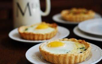 Tarte cu ouă