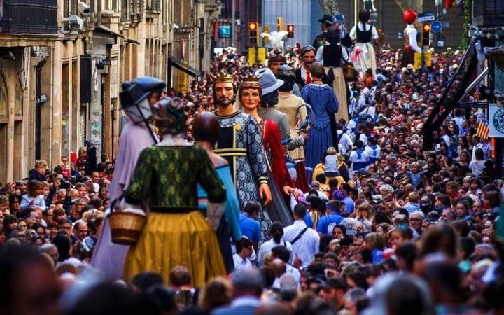 Festivalul Les Festes de la Mercé, Barcelona