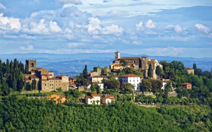 Festivalul vinului Boccaccesca, Toscana