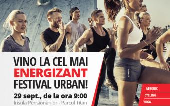 29 septembrie: #BeHealthy București Festival. Intrarea este liberă!