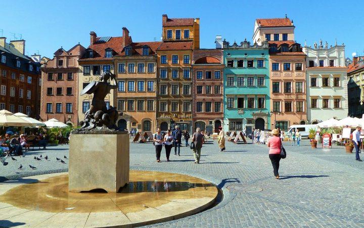 Pe drumul regelui în Varșovia
