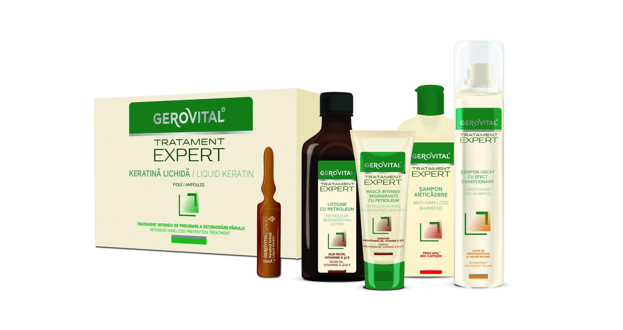 Farmec modernizează și extinde gama Gerovital Tratament Expert