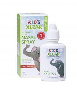 Respiră bine și sănătos cu Kid`s Xlear, picaturi nazale pentru copii