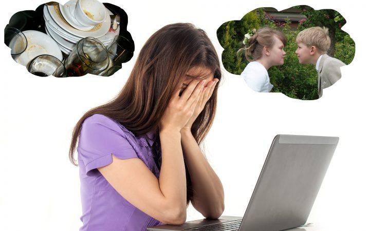 Mamele și burnout-ul