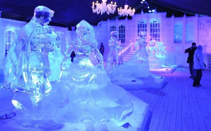 Snow and Ice Sculpture Festival, Bruges
