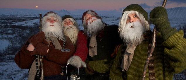 Festivalul celor 13 Moși Crăciuni, Islanda