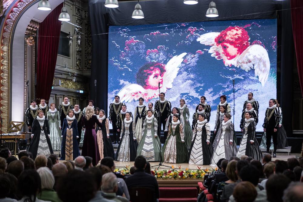 """Corul Național de Cameră """"Madrigal – Marin Constantin"""" anunță Turneul Extraordinar de Crăciun:"""