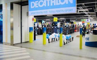 Decathlon deschide un nou magazin, într-un centru comercial din capitală