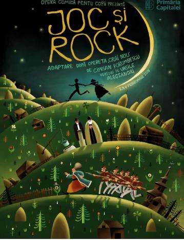 """""""Joc și Rock"""" cu daruri, de Ziua Națională, la Opera Comică pentru Copii"""