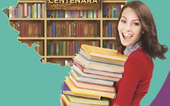 În an centenar, Centrele Comerciale Auchan din București îmbogățesc fondul de carte al bibliotecilo...