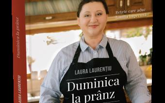 Laura Laurențiu și Curtea Veche Publishing pregătesc  o carte de reţete ce va uni familia la masă - ...