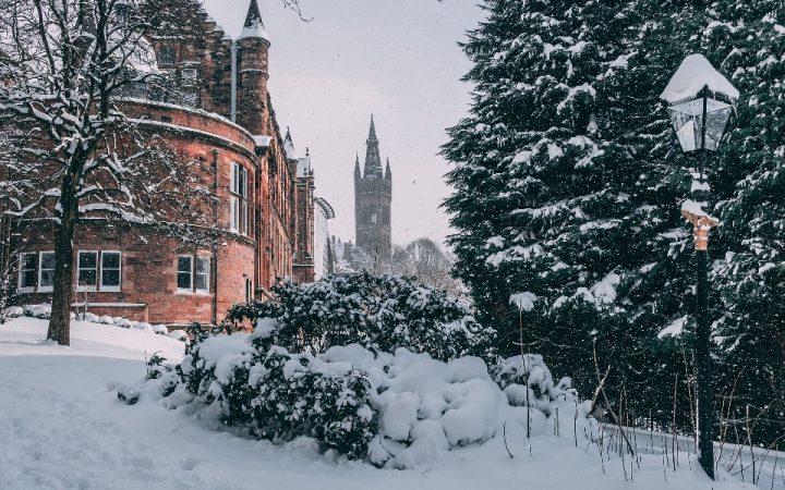 Crăciun în Glasgow