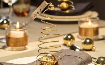 Împodobește clipele speciale în note de sărbătoare cu noi decorațiuni recomandate de Ferrero!