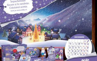 În decembrie, în așteptarea Crăciunului, Milka te invită să oferi tandrețe în fiecare zi