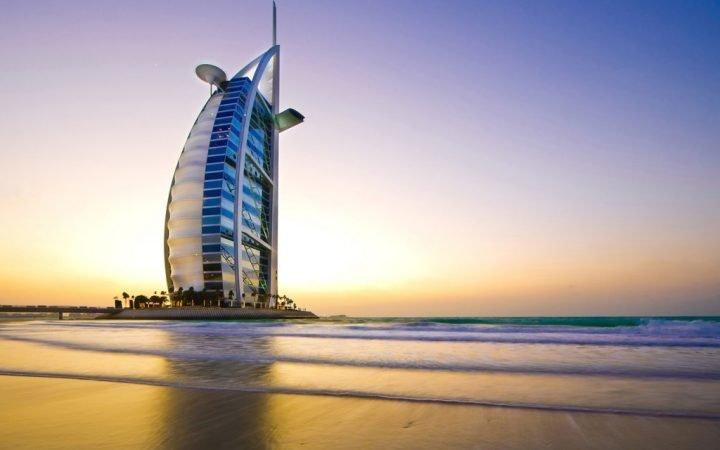 Anul 2019. Ianuarie. Între plajă și schi în Dubai