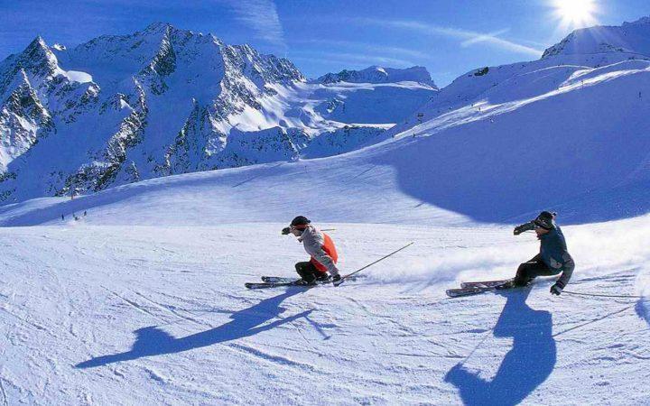 Ski la Courmayeur