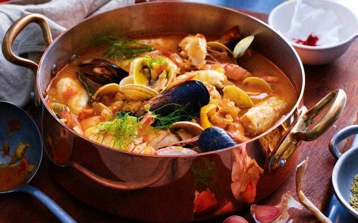 Cele mai bune fructe de mare și cel mai bun pește -Marsilia