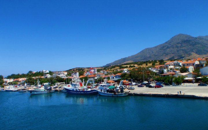 Iulie. Samothraki, oaza verde a Greciei
