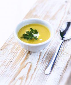 Supă cu praz. Ideală pentru o zi friguroasă de iarnă