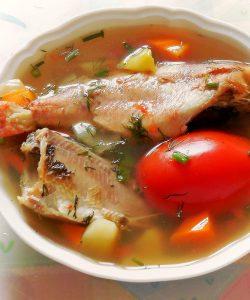 Supă de pește. Gustoasă, sănătoasă, de pus mereu pe masă