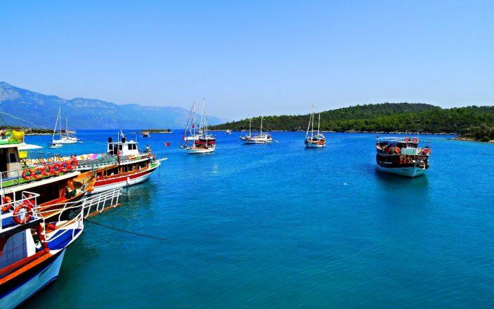 Insula Cleopatrei, colț de paradis