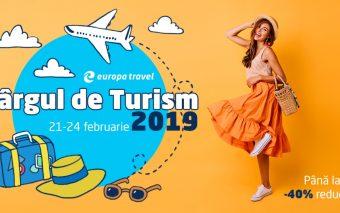 Călătorie în lumea super reducerilor la Târgul de Turism online, alături de Europa Travel