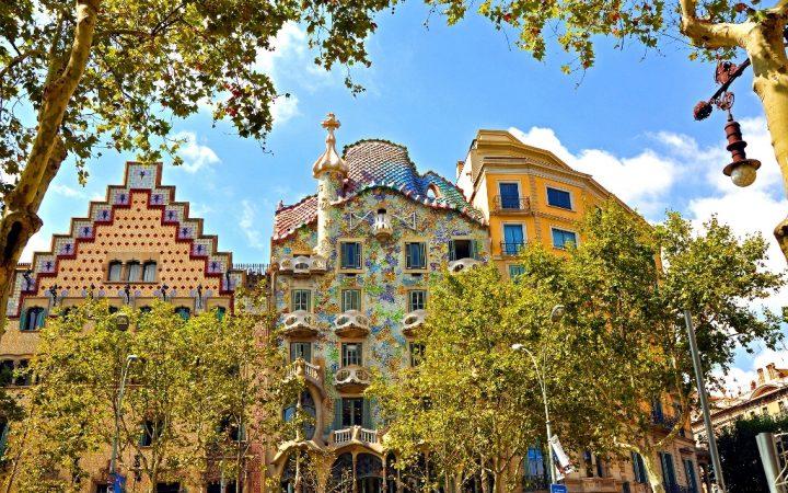 Mărțisor de primăvară în Barcelona