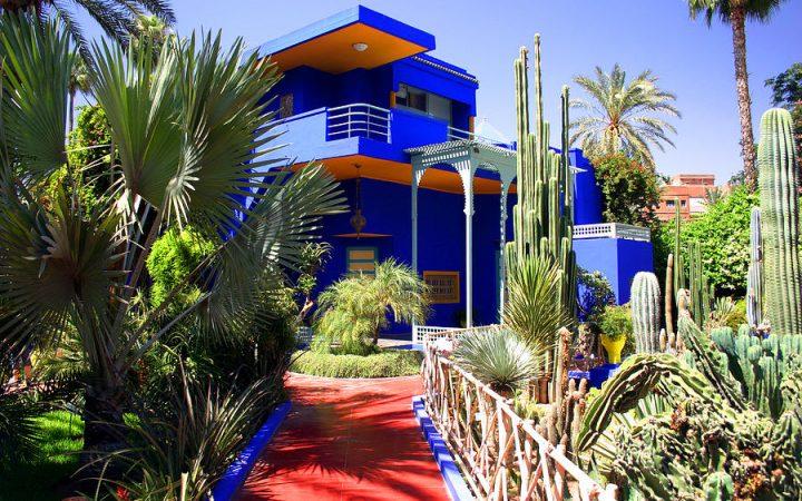 Gradina Majorelle din Marrakech