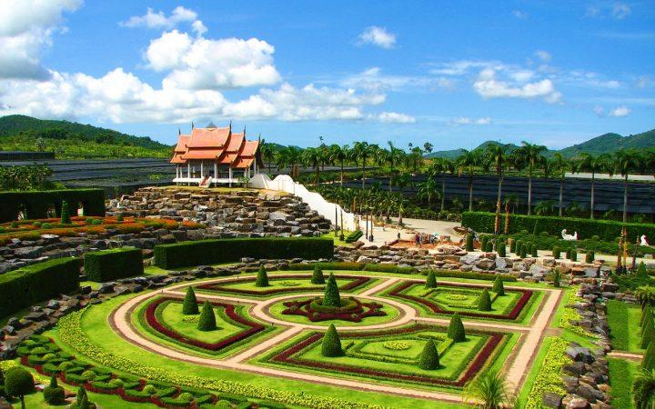 Grădina Suan Nong Nooch din Thailanda