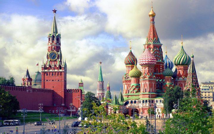Mărțisor de primăvară înMoscova