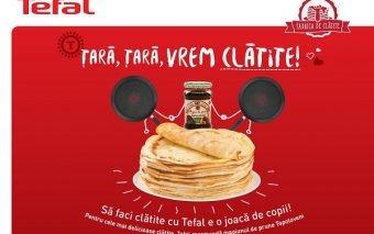 Fabrica de Clătite Tefal – Țară, țară vrem clătite!